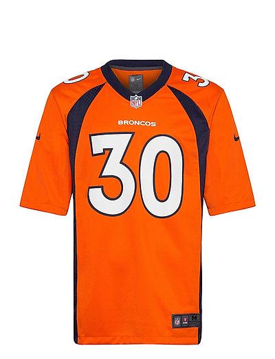 Denver Broncos Nike Game Team Colour Jersey - Player T-Shirt Orange NIKE FAN GEAR | NIKE SALE