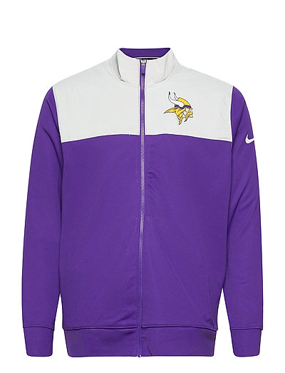 Minnesota Vikings Nike Logo Long Sleeve Jacket Dünne Jacke Lila NIKE FAN GEAR