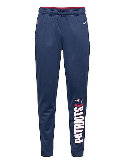 New England Patriots Nike Team Lockup Therma Pant Sweatpants Jogginghose Blau NIKE FAN GEAR