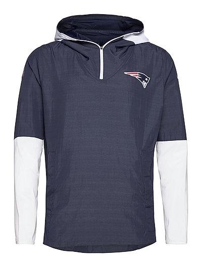 New England Patriots Nike Team Logo Pregame Lightweight Dünne Jacke Blau NIKE FAN GEAR