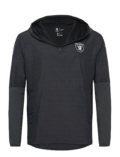 Las Vegas Raiders Nike Team Logo Pregame Lightweight Dünne Jacke Schwarz NIKE FAN GEAR