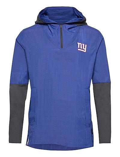 New York Giants Nike Team Logo Pregame Lightweight Dünne Jacke Blau NIKE FAN GEAR