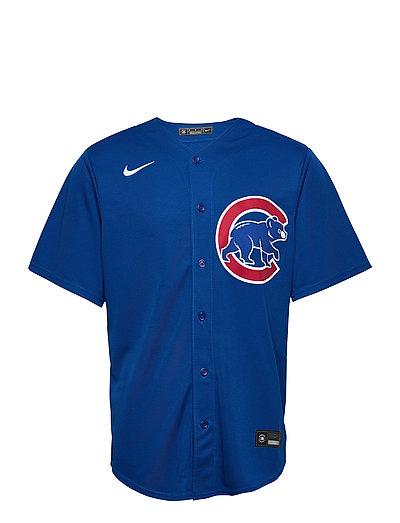 Chicago Cubs Nike Official Replica Alternate Jersey T-Shirt Blau NIKE FAN GEAR