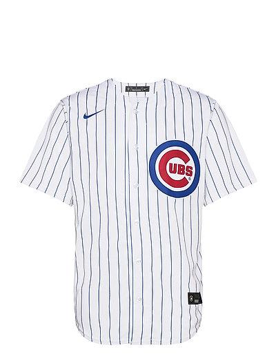 Chicago Cubs Nike Official Replica Home Jersey T-Shirt Weiß NIKE FAN GEAR