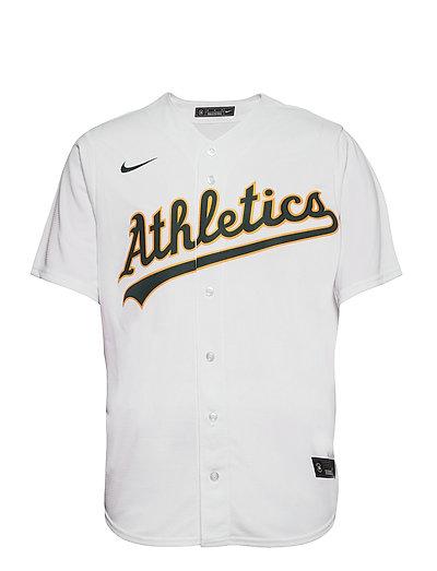 Oakland Athletics Nike Official Replica Home Jersey T-Shirt Weiß NIKE FAN GEAR | NIKE SALE