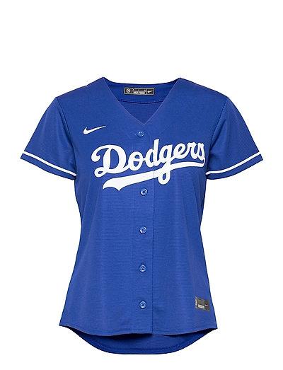 La Dodgers Nike Official Replica Alternate Jersey T-Shirt Top Blau NIKE FAN GEAR