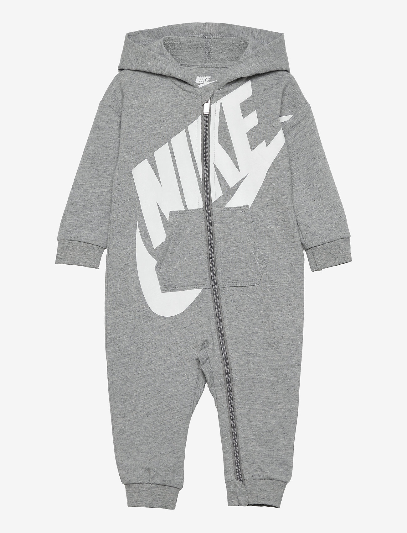 Nike - NKN ALL DAY PLAY COVERALL - langärmelig - dk grey heather - 0