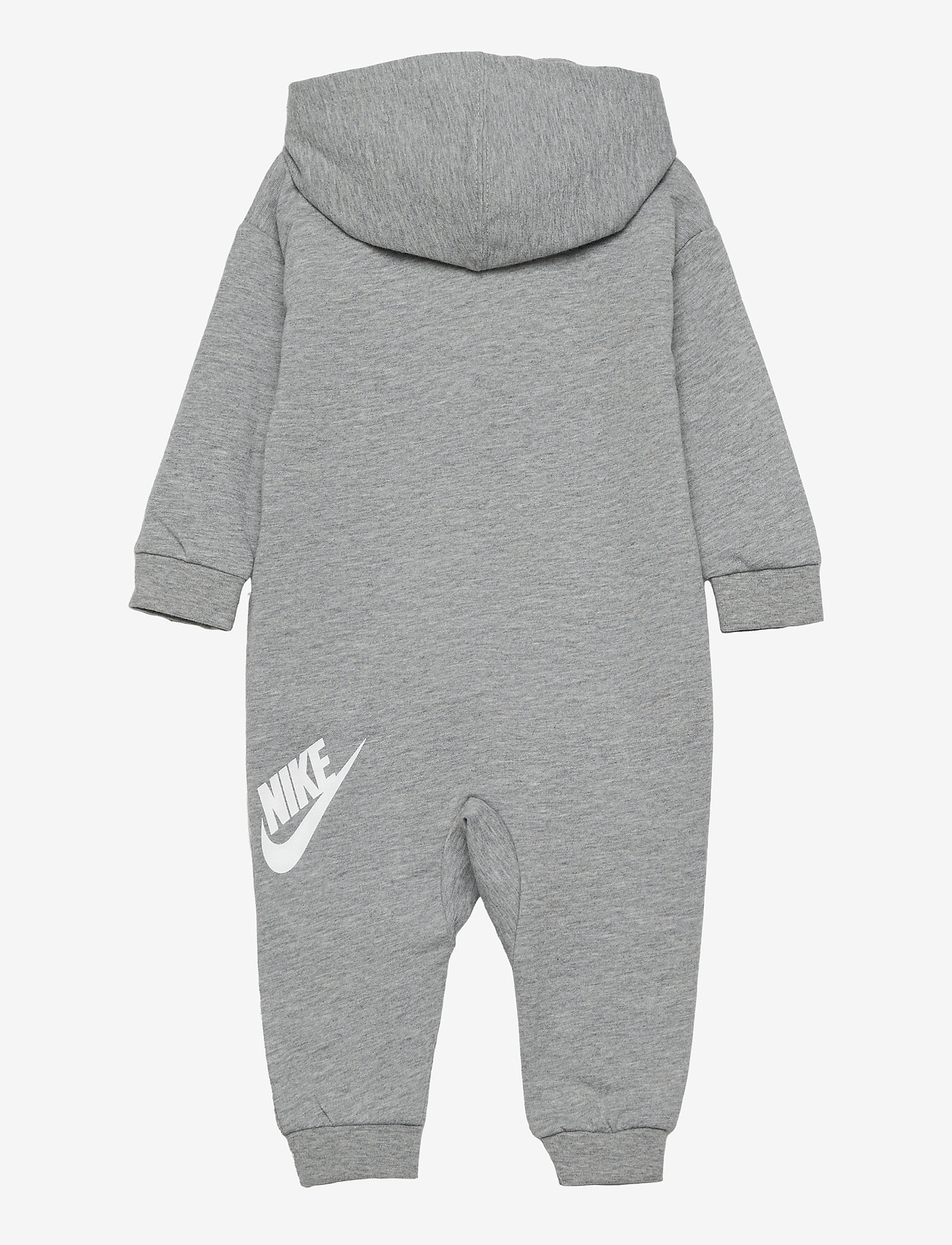 Nike - NKN ALL DAY PLAY COVERALL - langärmelig - dk grey heather - 1