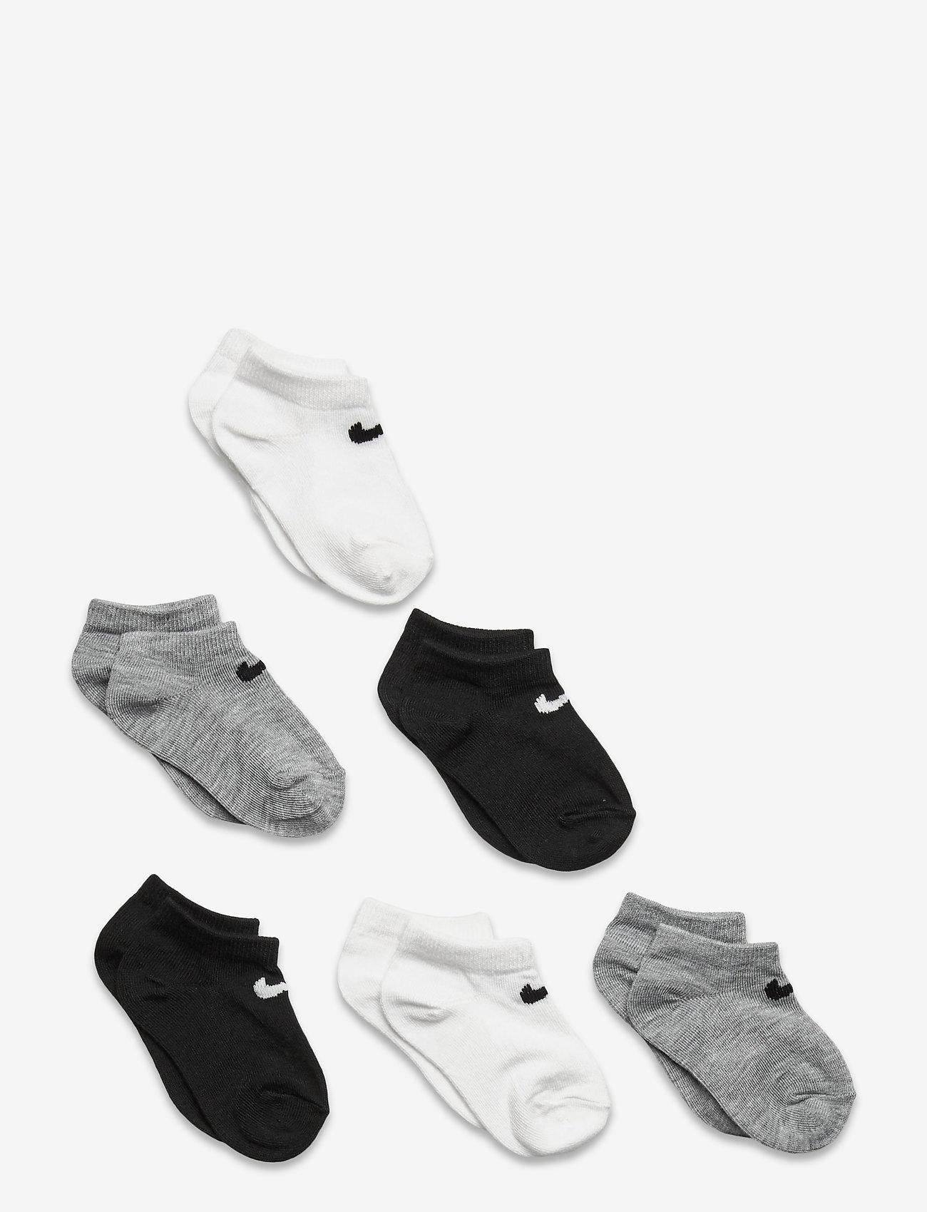 Nike - NHN NIKE COLORFUL PACK LOW - skarpetki - white/ dk grey heather - 0