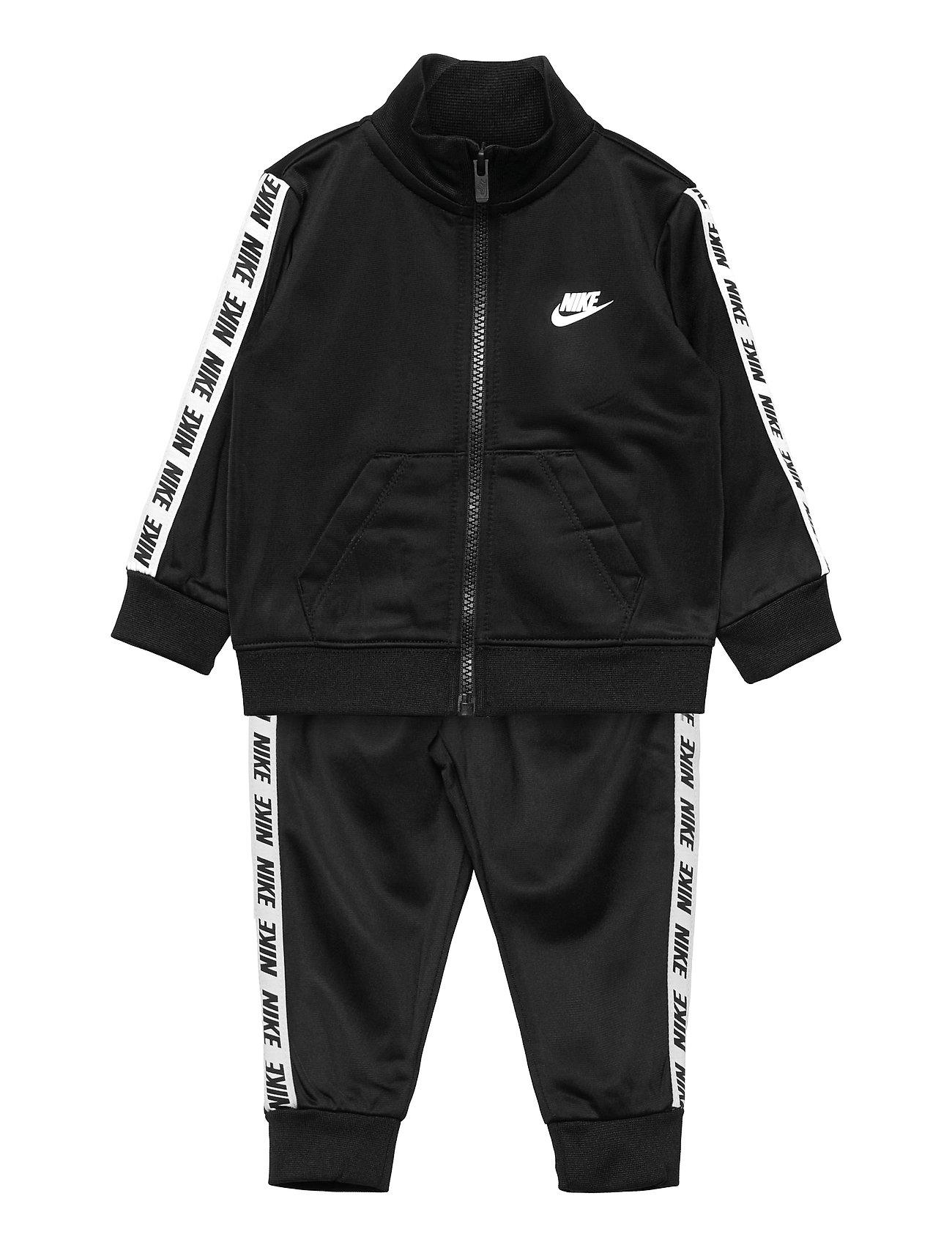 Nkb Nike Blk Taping Tricot Set Tracksuit Sort Nike