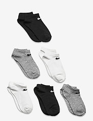 Nike - NHNNIKECOLORFULPACKLOW - skarpetki - white/ dk grey heather - 0