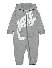 NKN ALL DAY PLAY COVERALL - DK GREY HEATHER