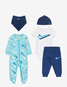NKN SWOOSHFETTI PARADE 5PC SET - gift sets - blue void