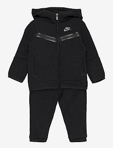 NSW TECH FLEECE SET - fleece sets - black