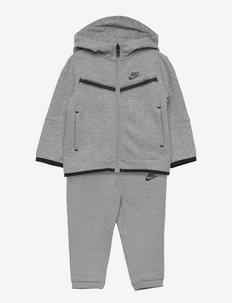 NSW TECH FLEECE SET - fleece sets - dk grey heather