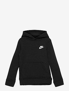 NKB CLUB FLEECE PO HOODIE - hoodies - black