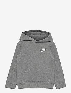 NKB CLUB FLEECE PO HOODIE - hoodies - carbon heather