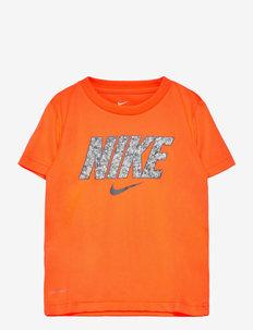 NKB DIGITAL CONFETTI - korte mouwen - total orange