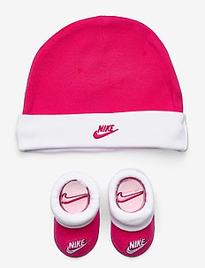 NHN NIKE FUTURA HAT AND BOOTIE - gift sets - rush pink
