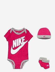 NHN FUTURA LOGO - gift sets - rush pink