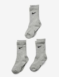 NIKE DF PERFORMANCE BASIC CREW - sokker - dk grey heather