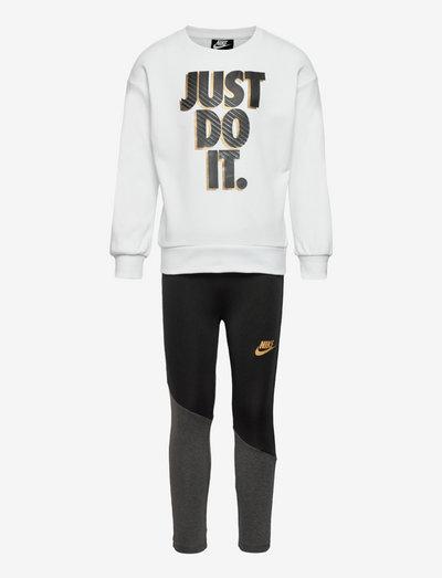 NKG GO FOR GOLD LEGGING SET - dresy & zestaw 2 szt - black