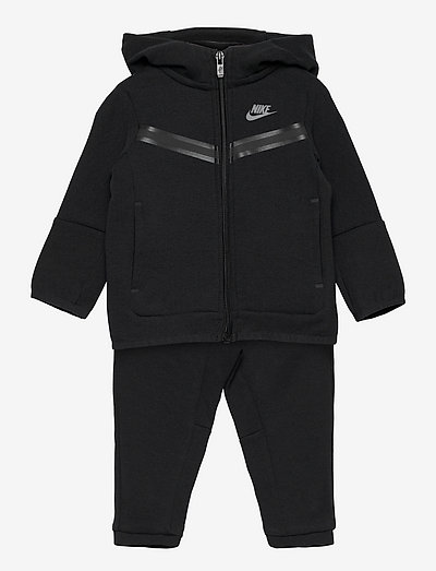 NSW TECH FLEECE SET - zestawy polarowe - black