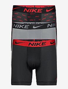 BOXER BRIEF 3PK - ondergoed - uni. red logo print/cool gr./blck