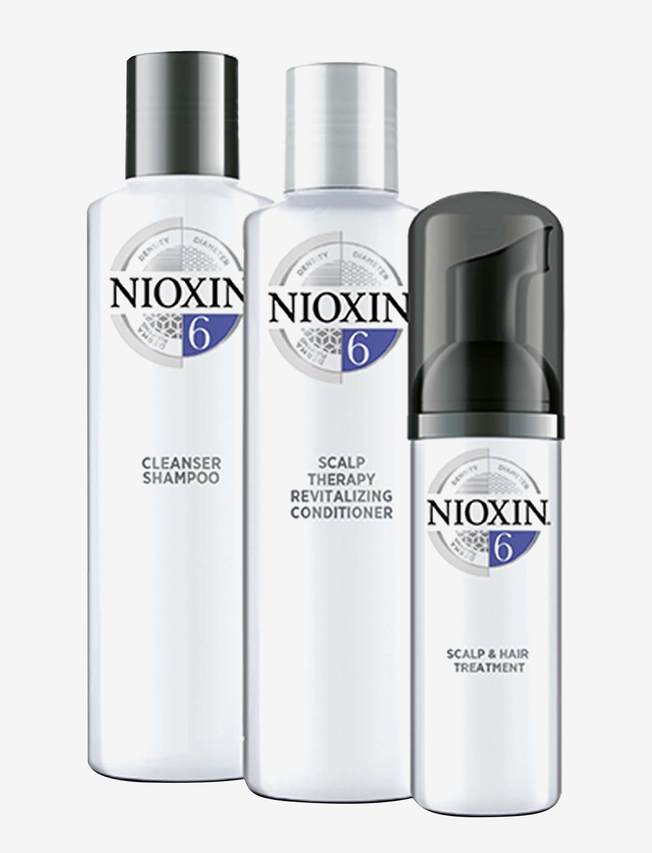 Nioxin - TRIAL KIT SYSTEM 6 - hårvårdsset - no colour - 1