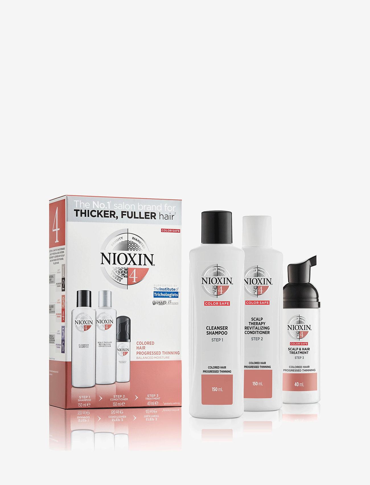 Nioxin - TRIAL KIT SYSTEM 4 - hårvårdsset - no colour - 1