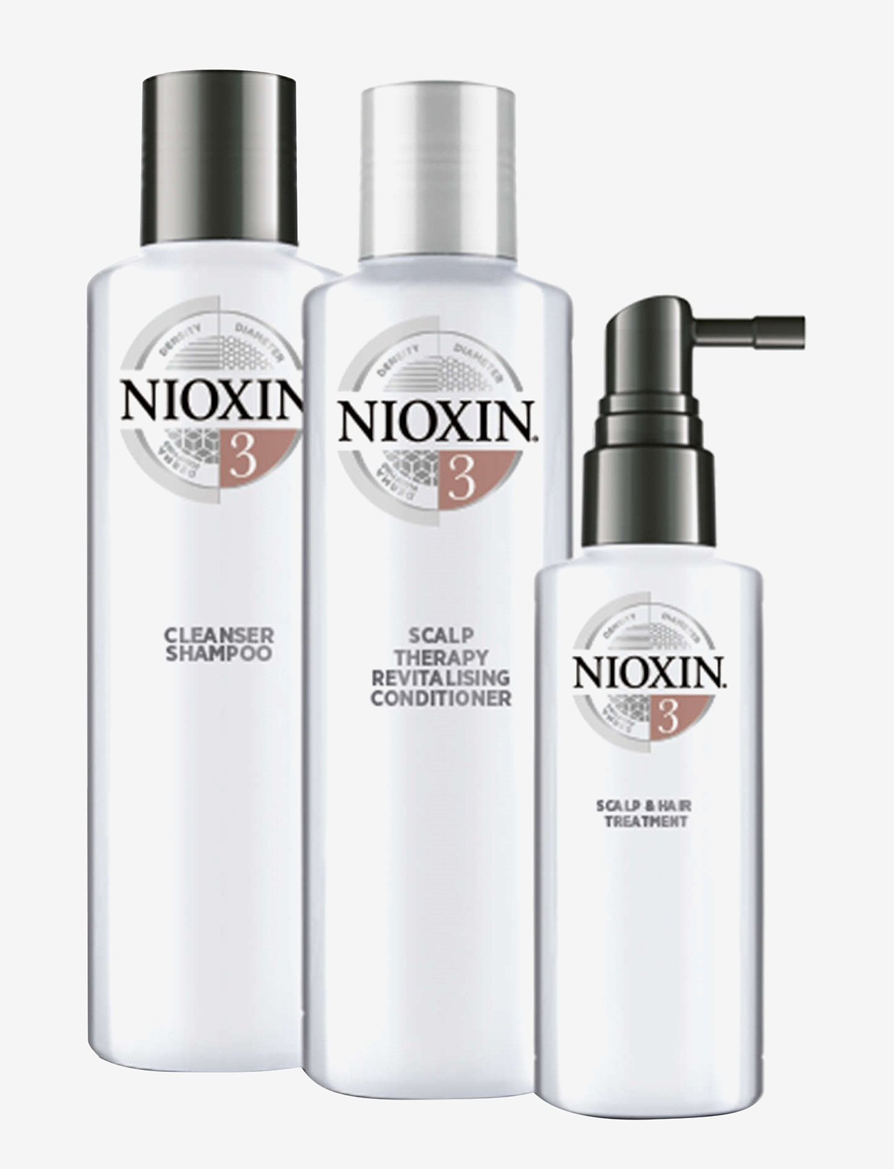 Nioxin - TRIAL KIT SYSTEM 3 - hårpleiesett - no colour - 1