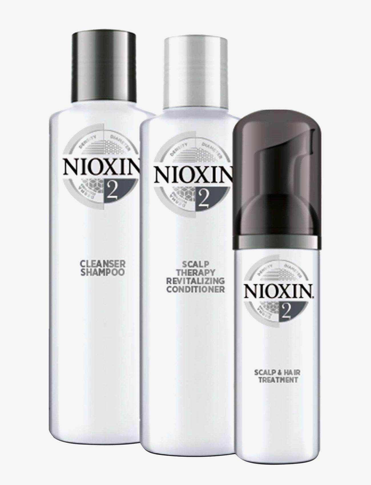 Nioxin - TRIAL KIT SYSTEM 2 - hårpleiesett - no colour - 1