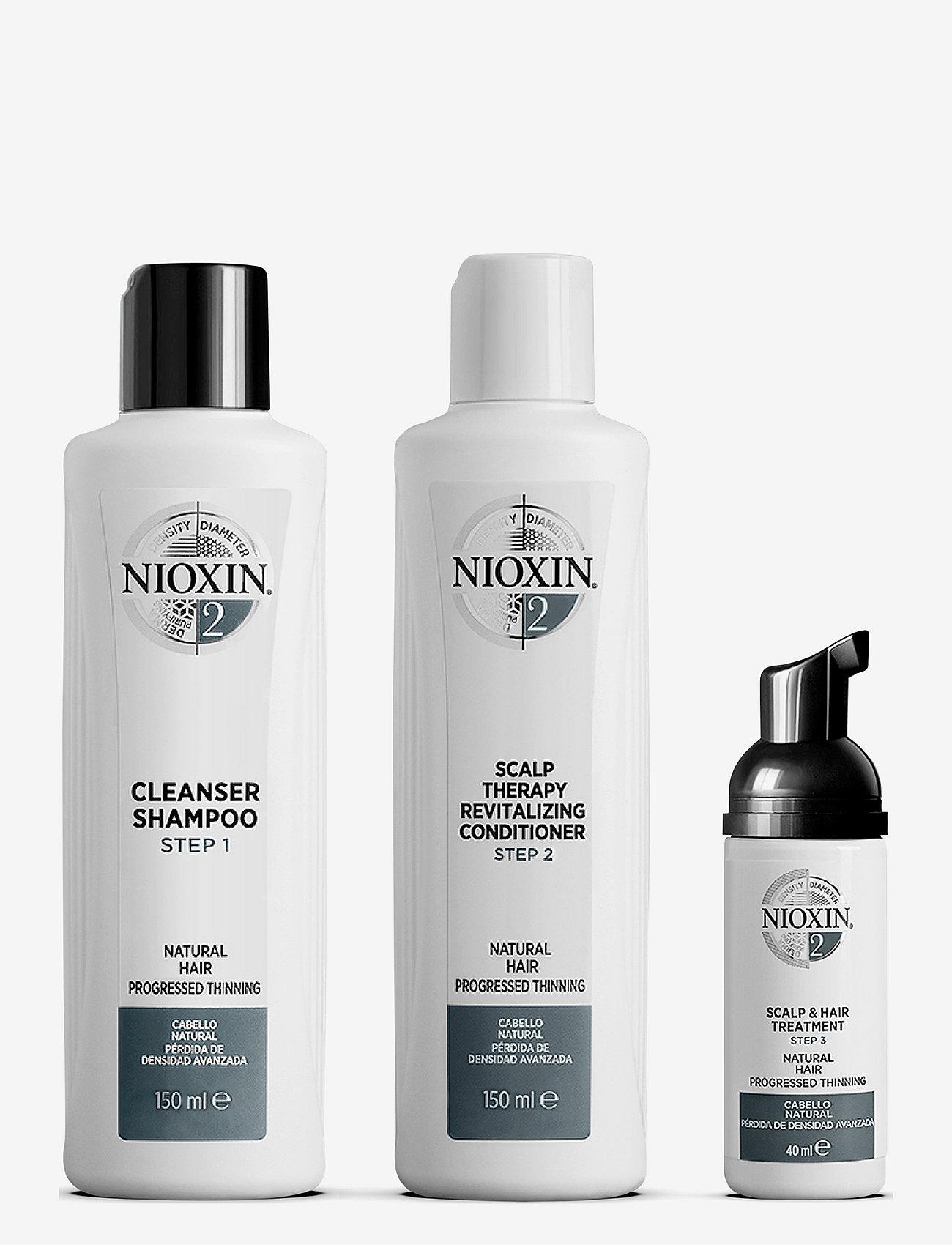Nioxin - TRIAL KIT SYSTEM 2 - hårpleiesett - no colour - 0