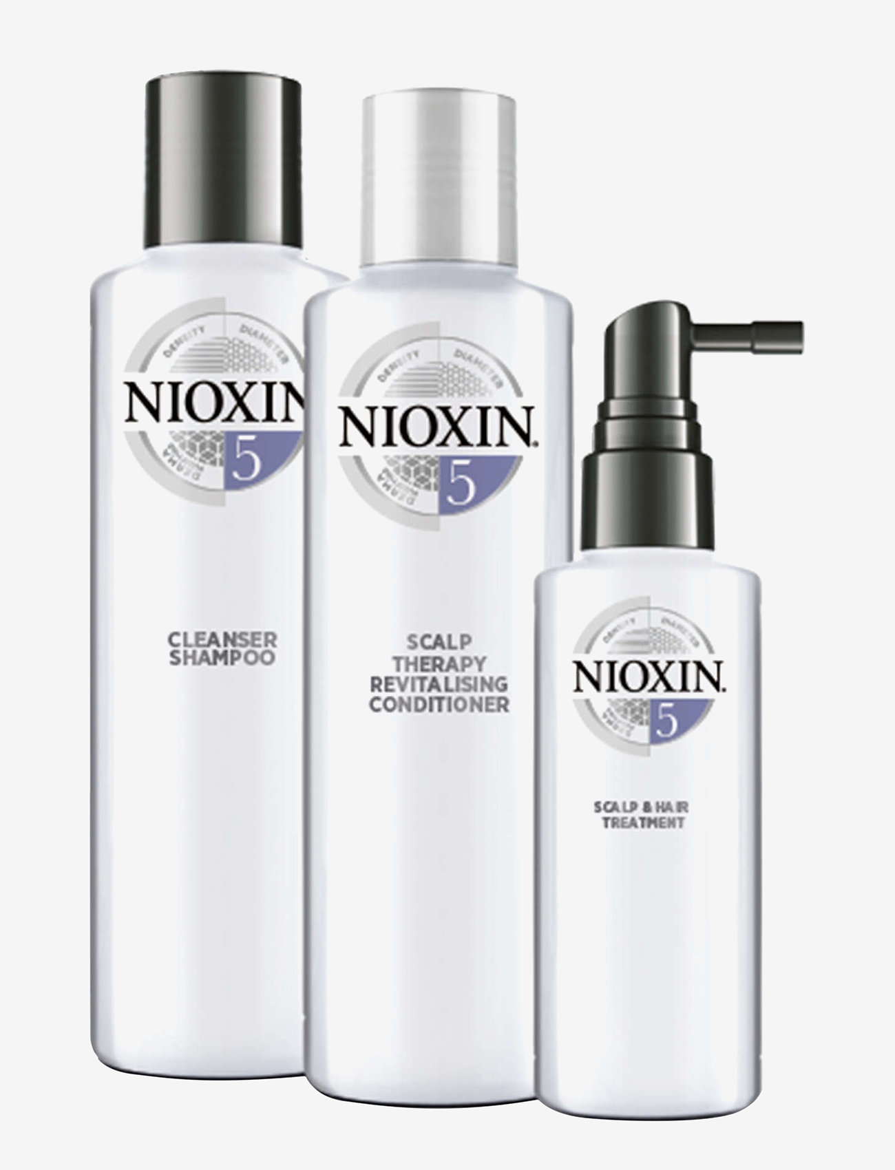Nioxin - LOYALTY KIT SYSTEM 5 - hårpleiesett - no colour - 1