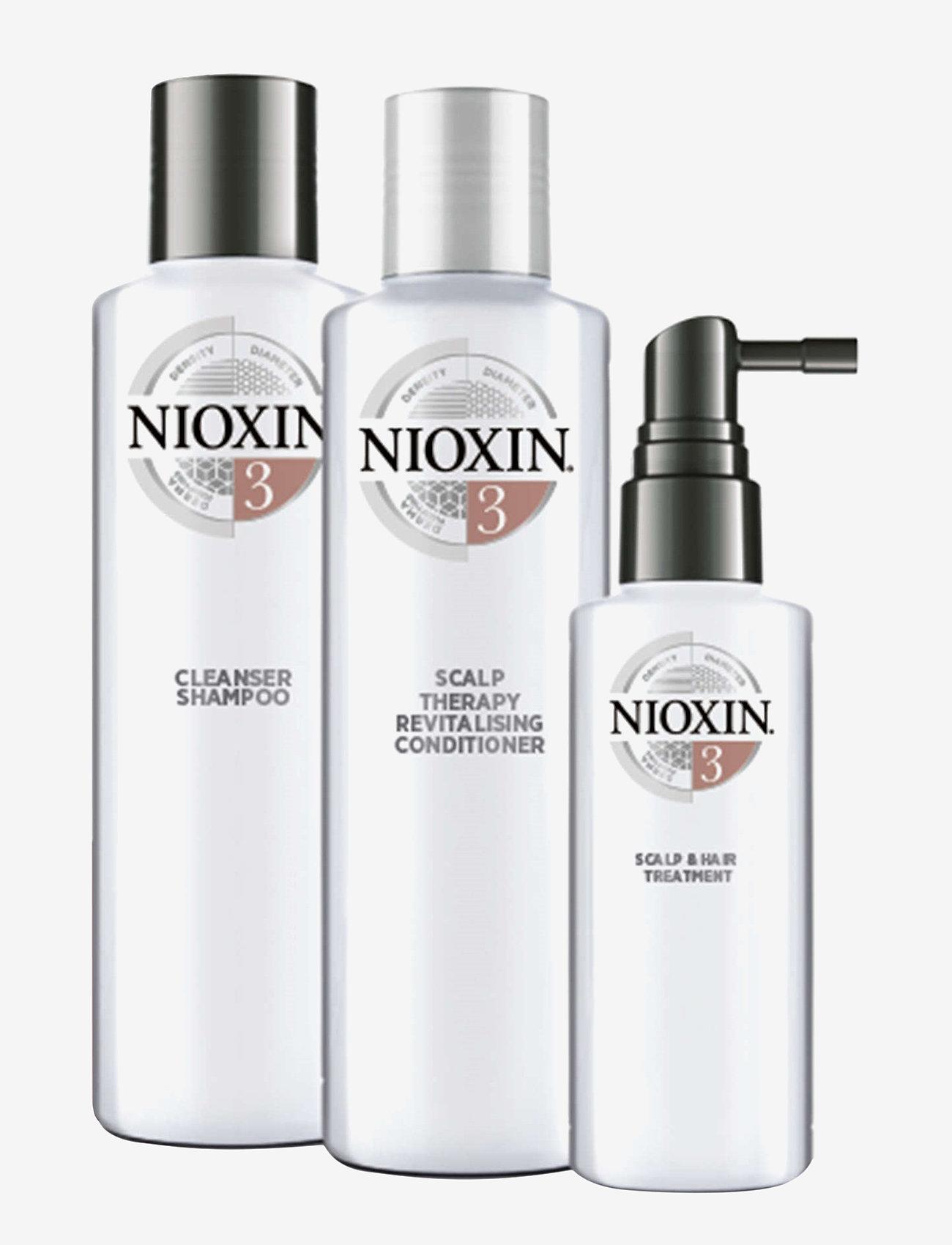 Nioxin - LOYALTY KIT SYSTEM 3 - hårpleiesett - no colour - 1