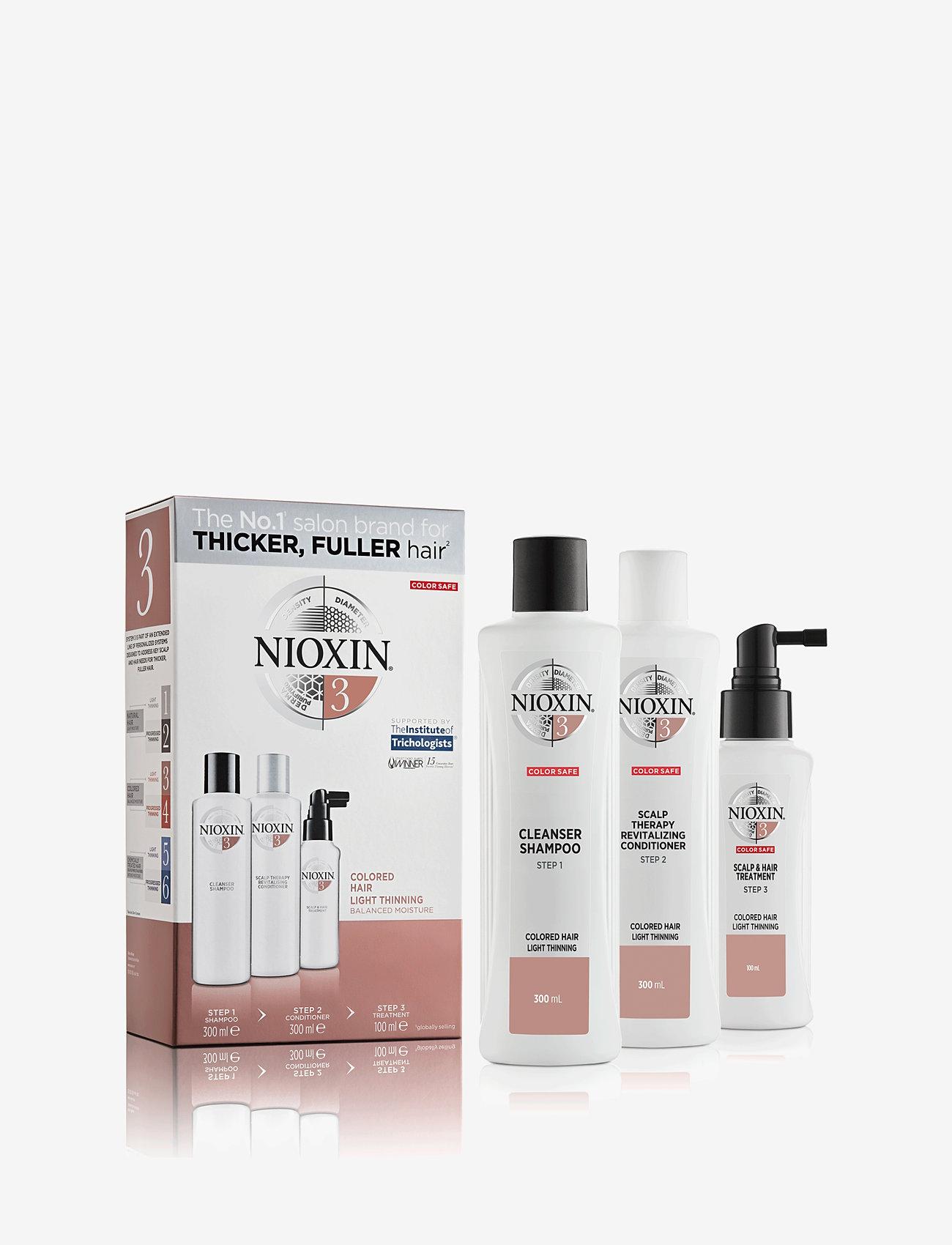 Nioxin - LOYALTY KIT SYSTEM 3 - hårpleiesett - no colour - 0
