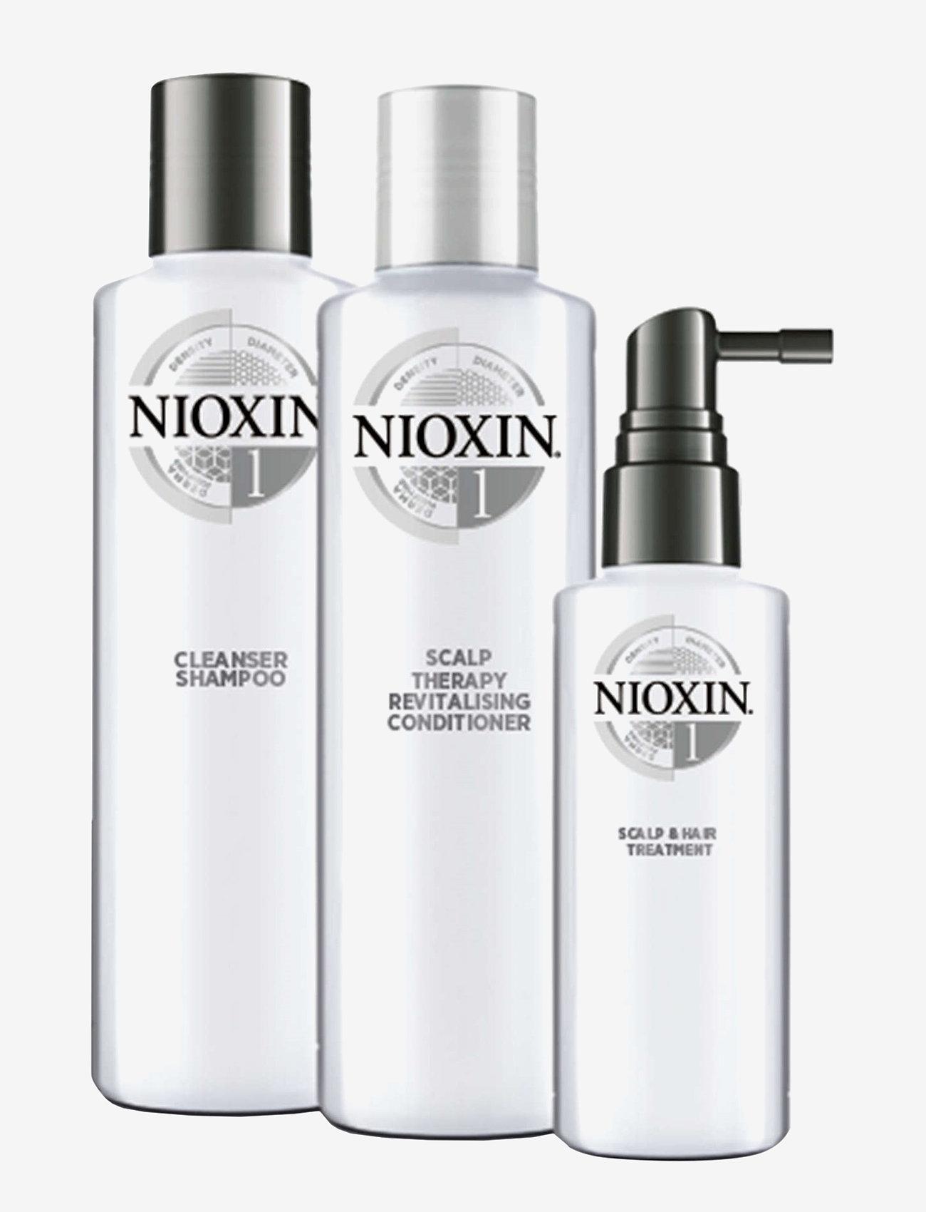 Nioxin - LOYALTY KIT SYSTEM 1 - hårpleiesett - no colour - 1