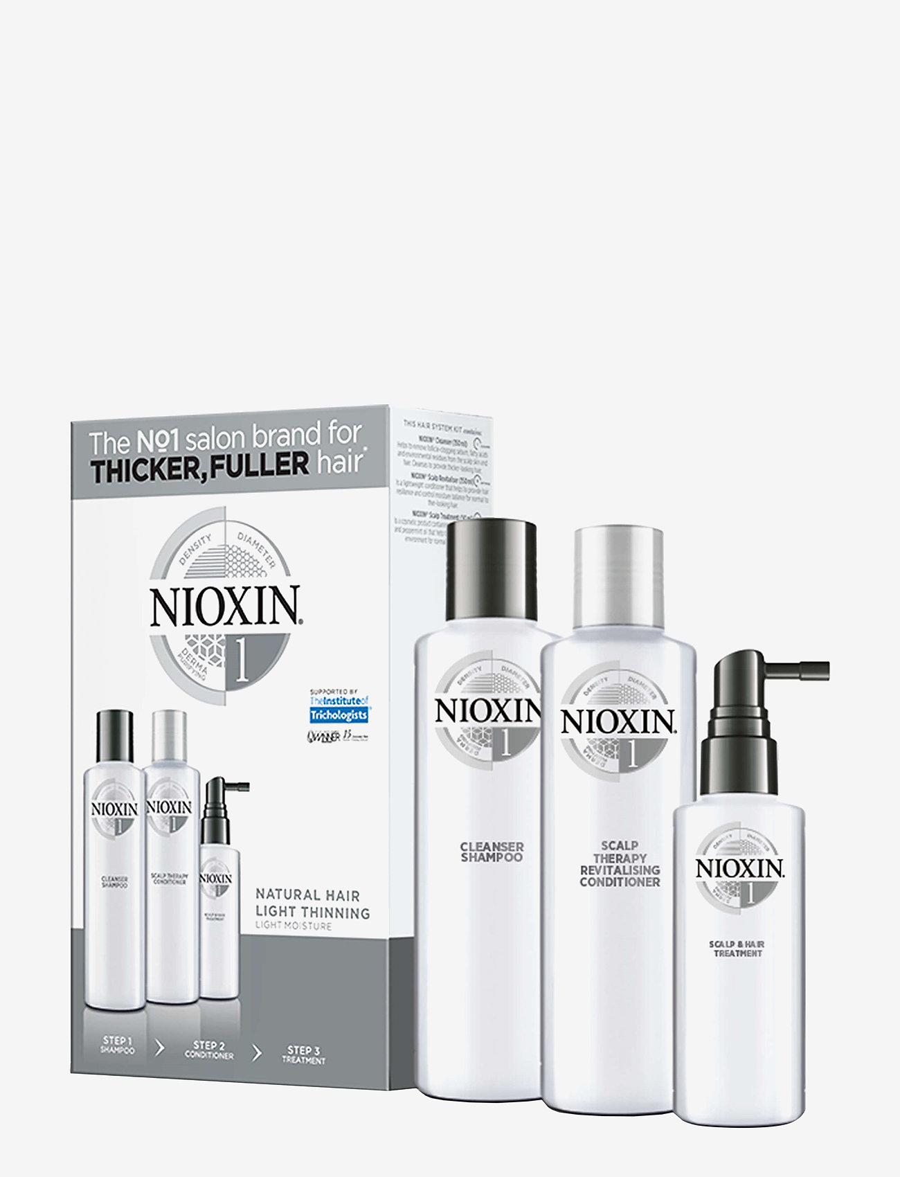 Nioxin - LOYALTY KIT SYSTEM 1 - hårpleiesett - no colour - 0