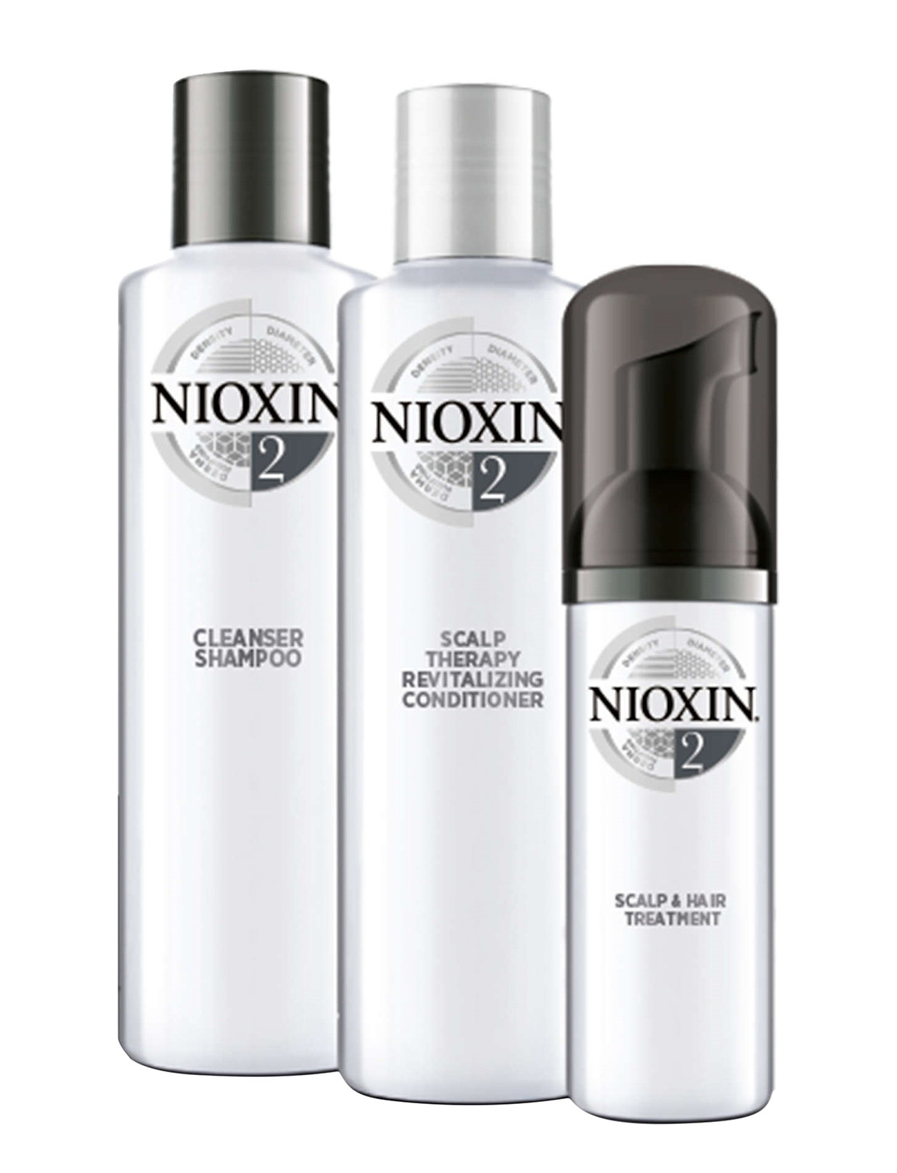 Nioxin TRIAL KIT SYSTEM 2 - NO COLOUR