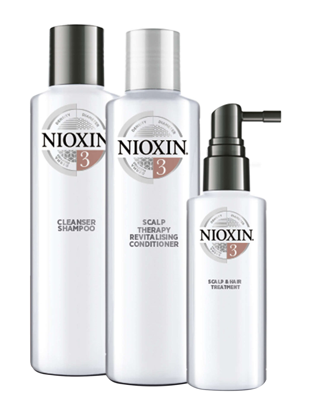 Image of Loyalty Kit System 3 Beauty MEN ALL SETS Nude Nioxin (3262246889)