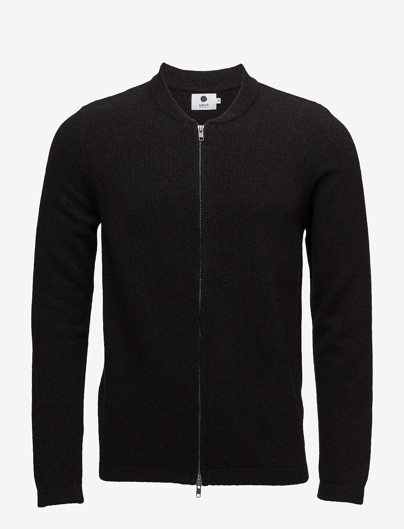 NN07 - Jake full zip 6259 - cardigans - black - 0