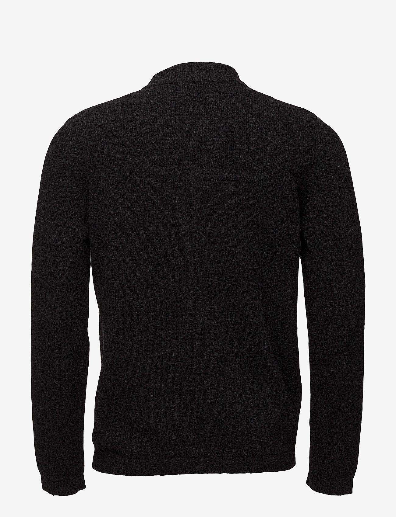 NN07 - Jake full zip 6259 - cardigans - black - 1