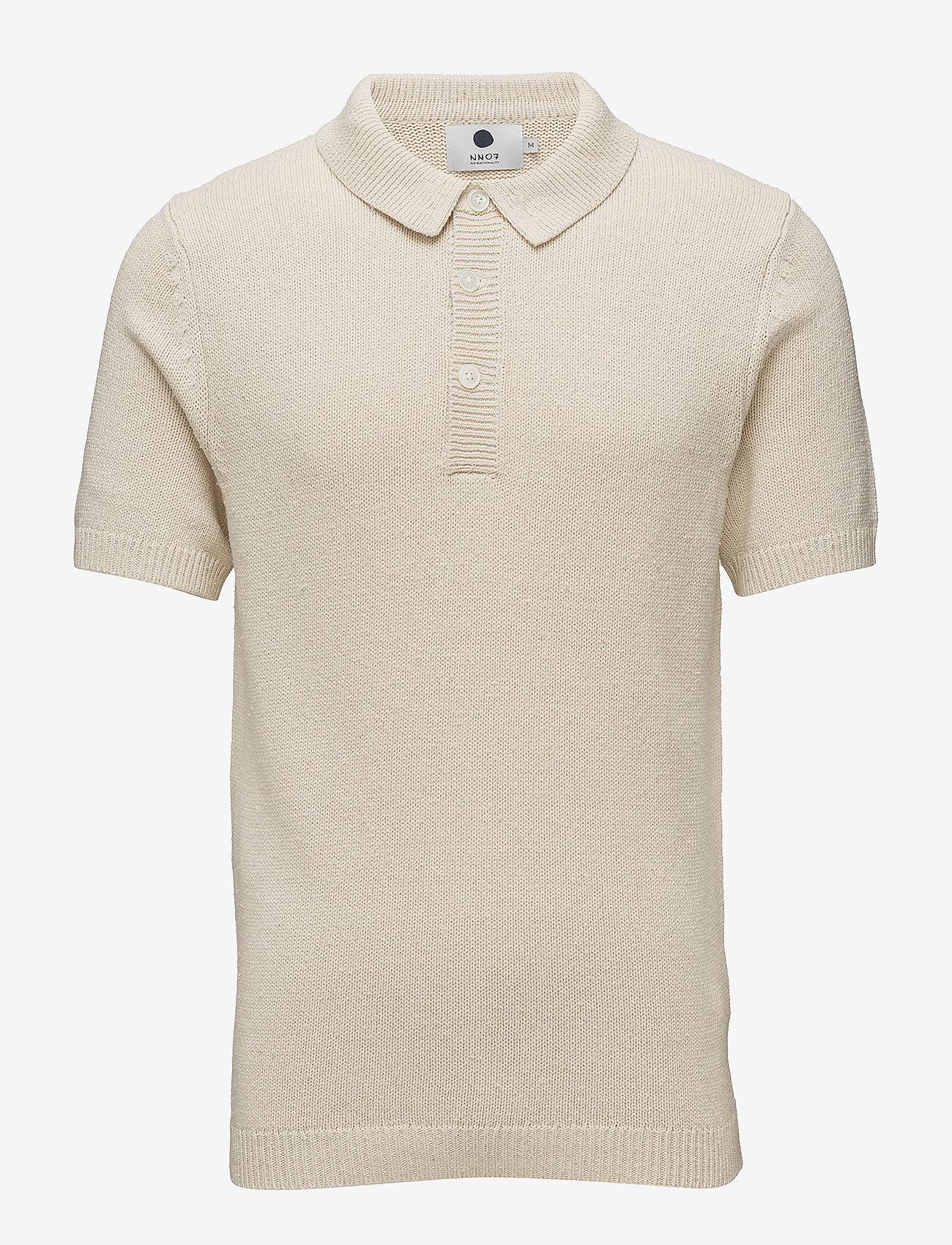 NN07 - Short sleeve Polo 6274 - short-sleeved polos - ecru