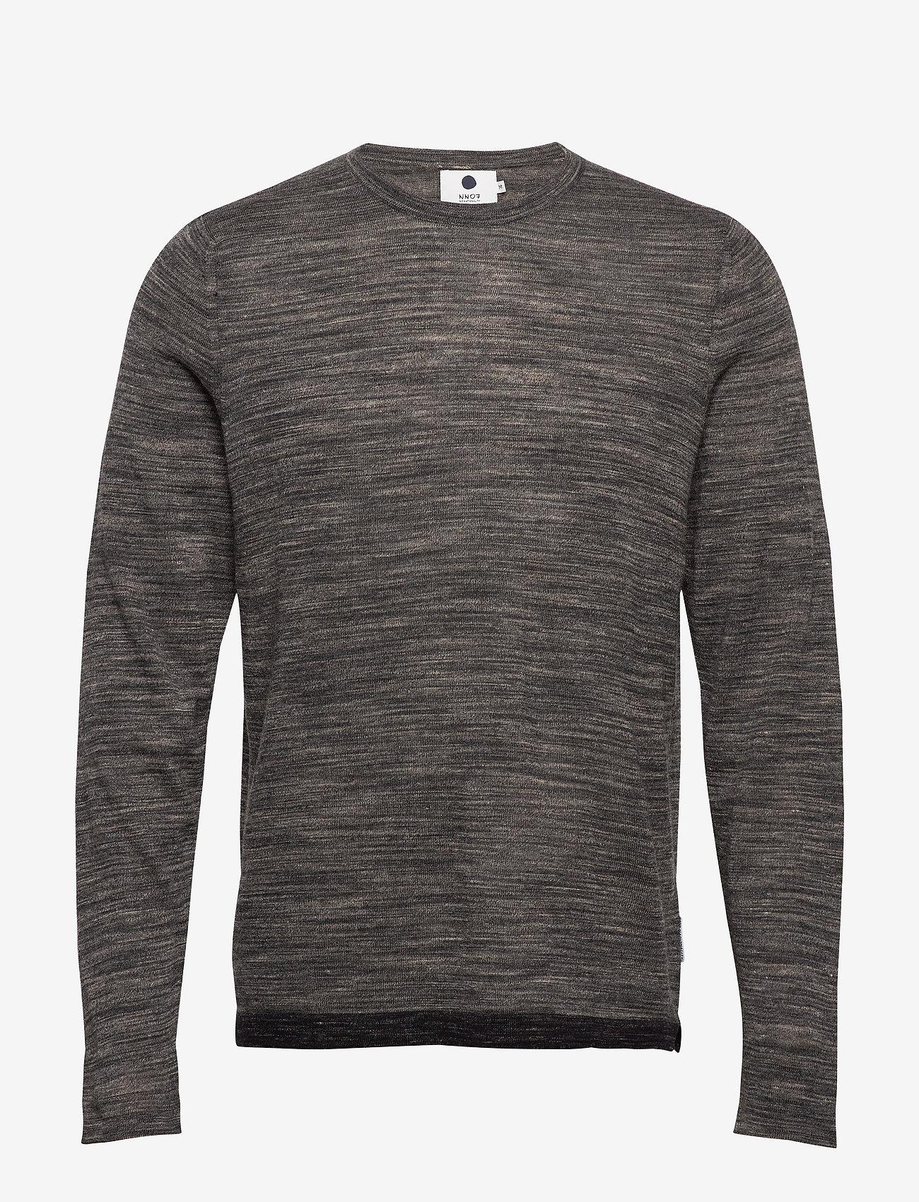 NN07 - Axel 6290 - tricots basiques - grey mel. - 0