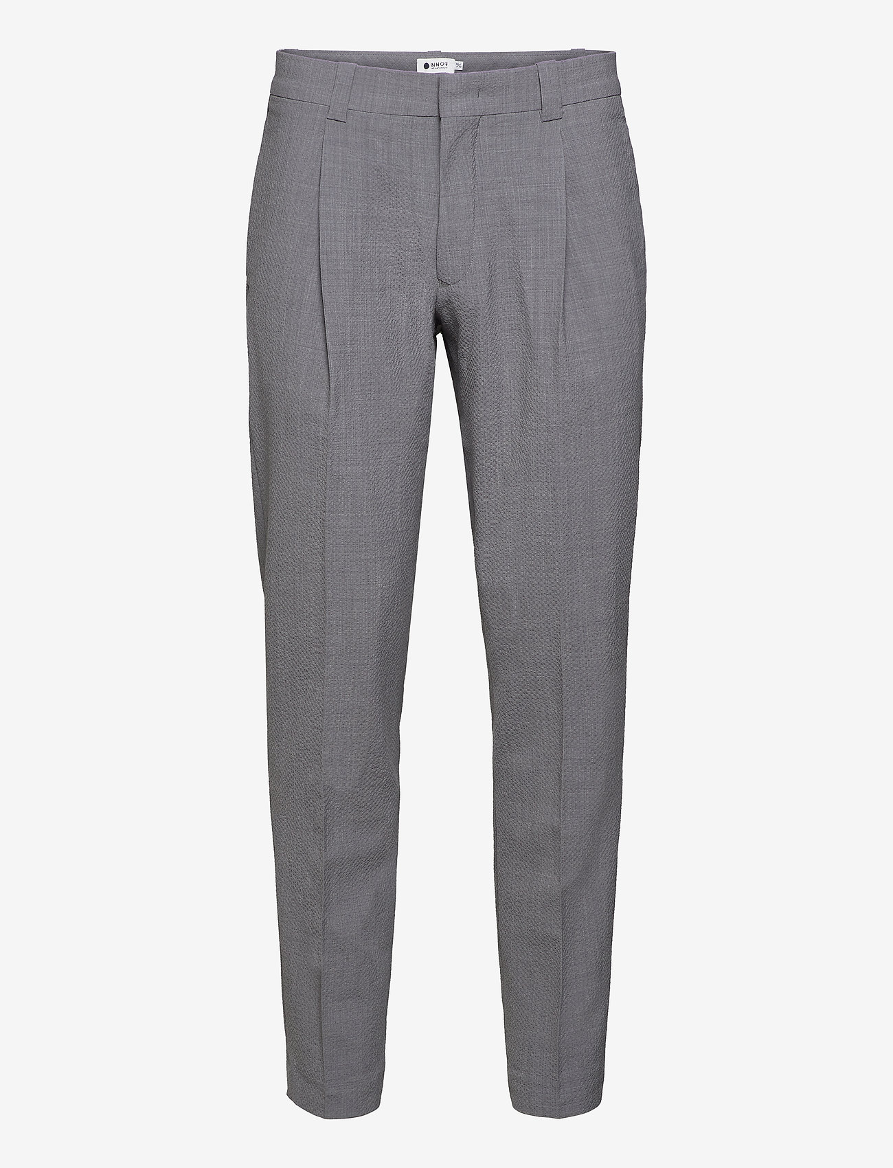 NN07 - Diego 1352 L30 - suit trousers - grey mel. - 0