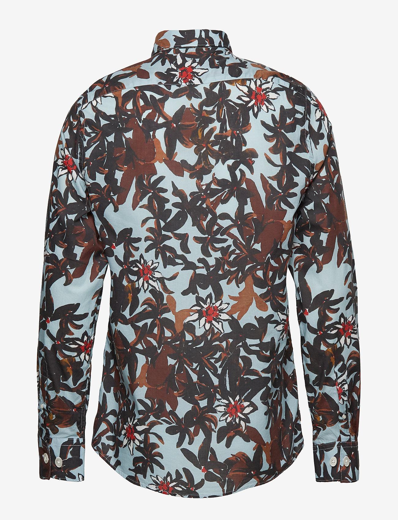 NN07 - Morgan 5118 - business skjortor - l. blue print - 1