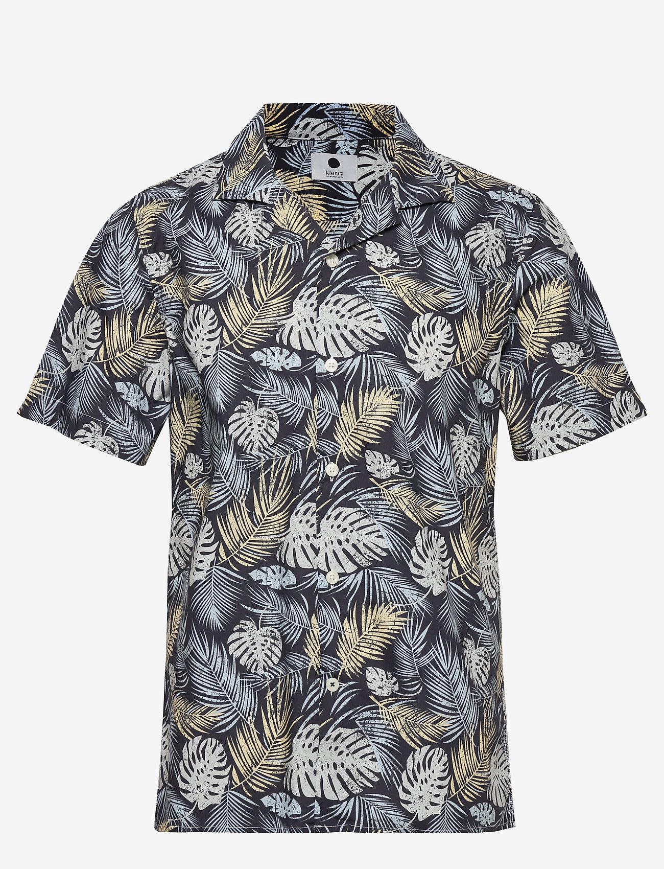 NN07 - Miyagi 5144 - kortärmade skjortor - multi colour print - 0