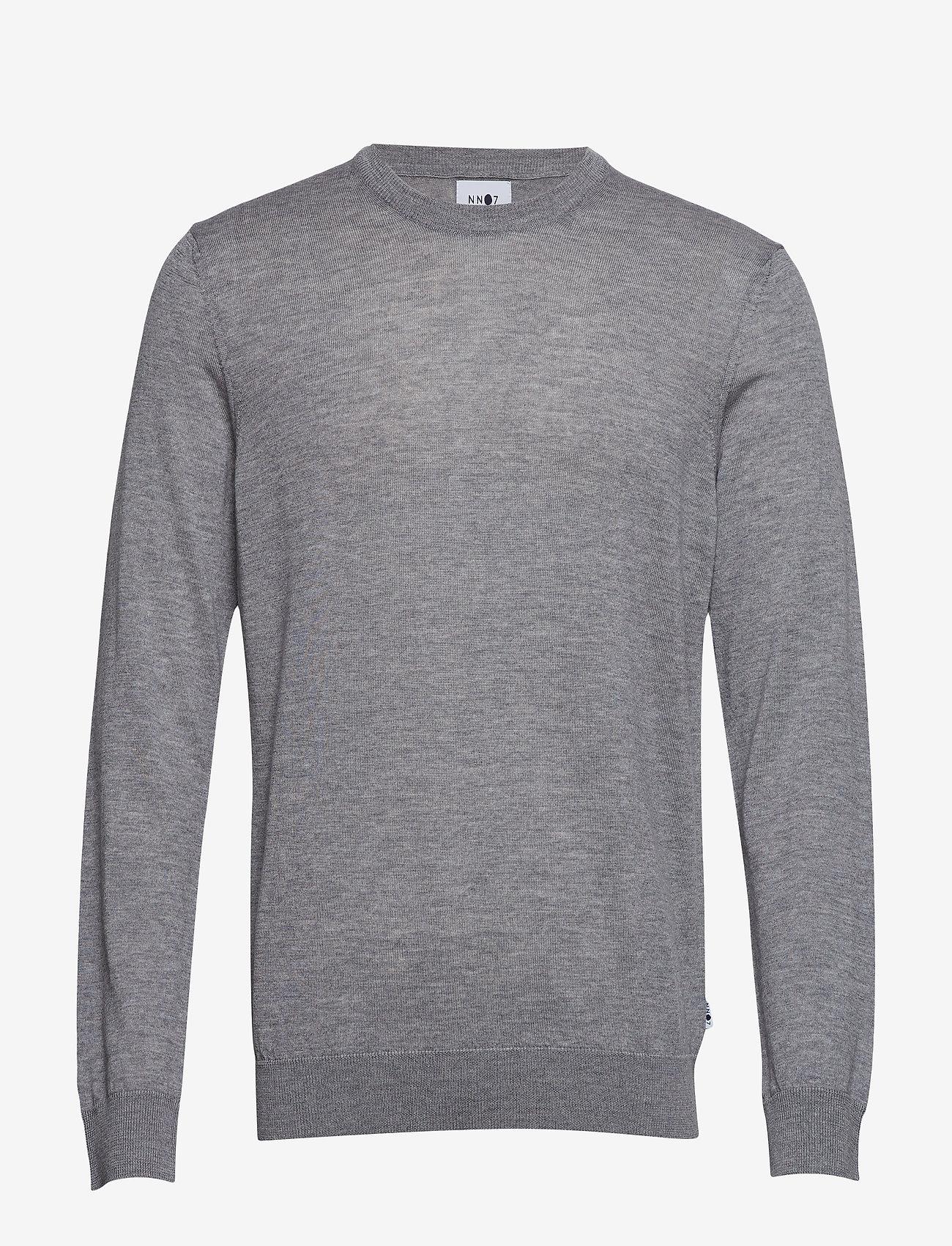 NN07 - Ted 6120 - tricots basiques - medium grey melange - 0