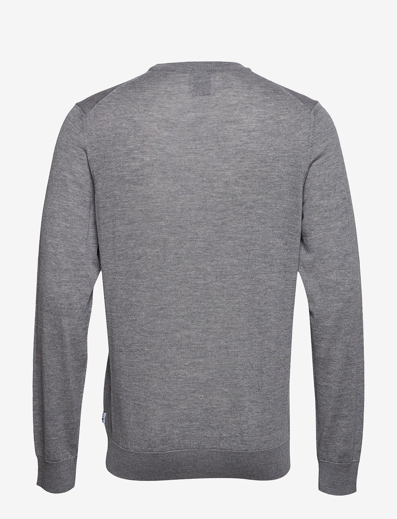 NN07 - Ted 6120 - tricots basiques - medium grey melange - 1