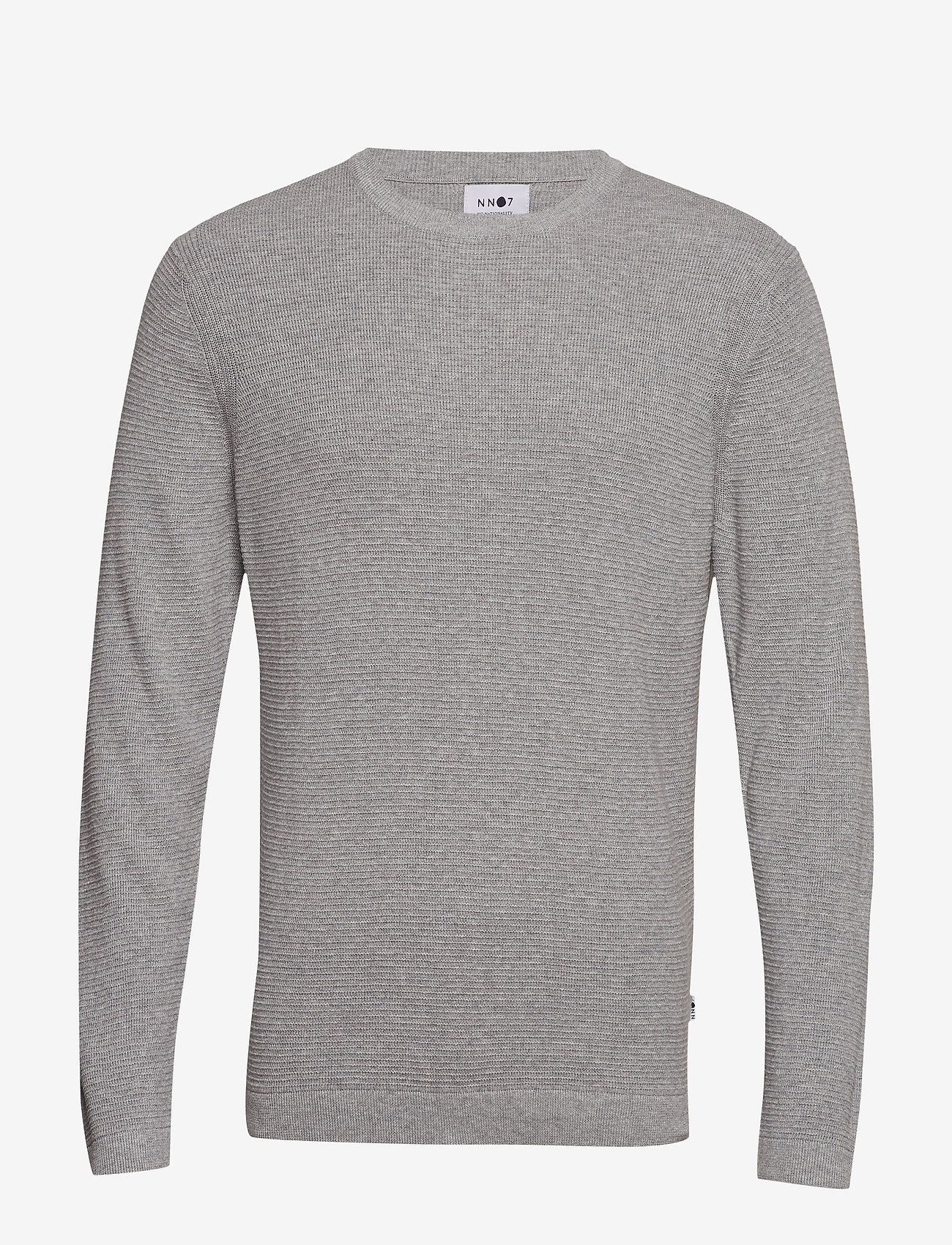 NN07 - Julian 6194 - basic knitwear - medium grey melange